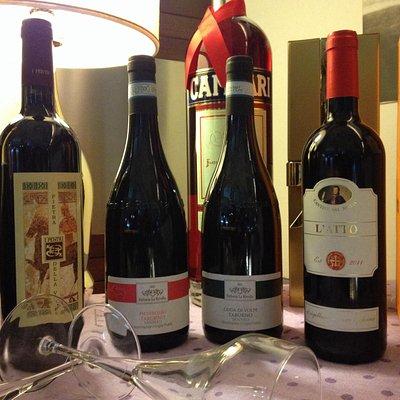 Alcune scelte di vino