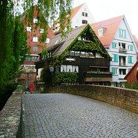 """Fisherviertel Ulm - near restaurant """"Zur Vorelle"""""""