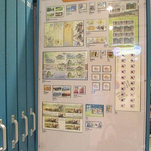 the collection of all Korean stamps for all the years