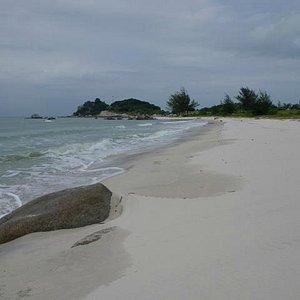 One of the beaches, Tanjung Berikat, Lubuk Besar, Bangka Island