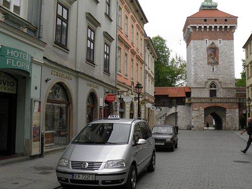 Kraków ul. Floriańska