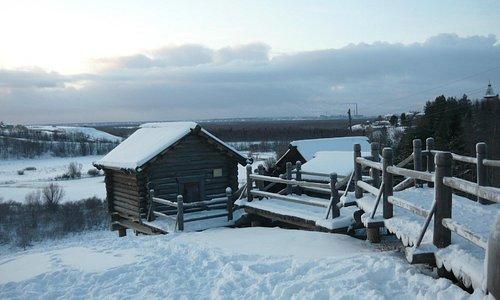 Зима в Малых Корелах