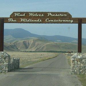 Wind Wolves Preserve Entrance