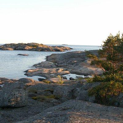 At Trelänningen in the Ekenäs archipelago national Park towards south