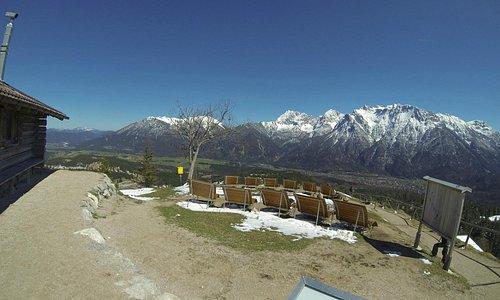 Kranzbergpanorama Richtung Karwendelgruppe Nordosten
