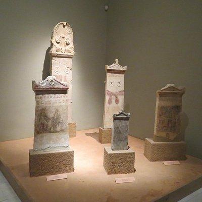 Grave stelae