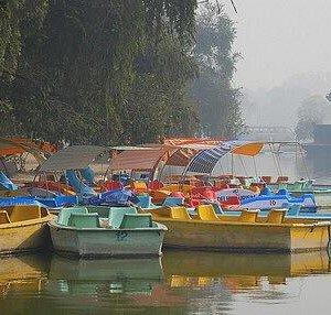 Sanajay Lake in winters !