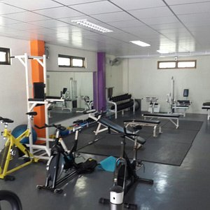 Don's gym view