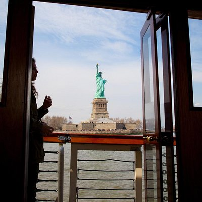 Through the Boat to the Statue of Liberty