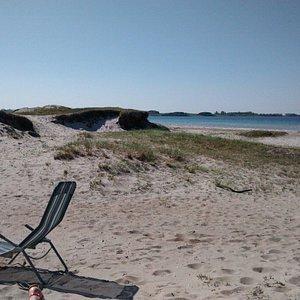 Vesterlyng beach.