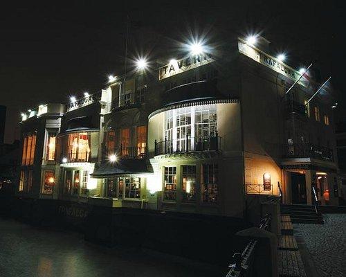 Trafalgar Pub on River Thames