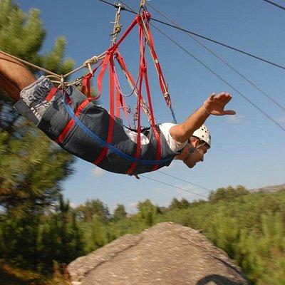Slide 350m Super-Homem