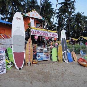 Samson's Kiosk.  Palolem Beach ,Goa.