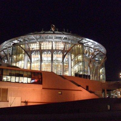 Вид на здание дома музыки