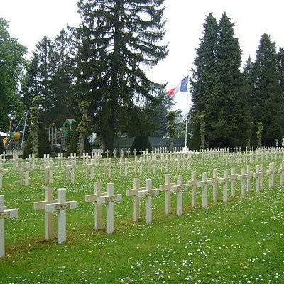 French National Cemetery, Dinant, Bélgica.