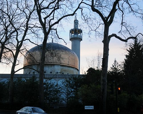 London Central Mosque from exterior
