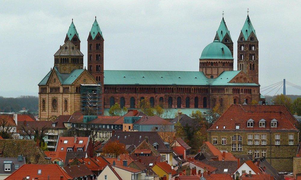 Dom zu Speyer, größter altrömischer Dom der Welt