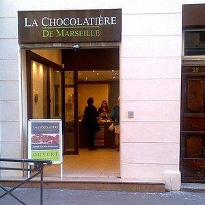 La Boutique - La Chocolatière de Marseille