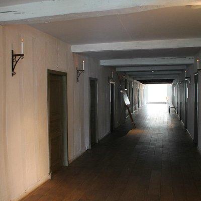 couloir des sœurs du Saint Sépulcre
