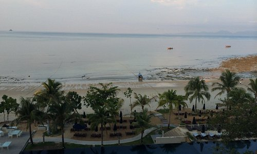 The Beach from the Beyond Resort lobby. Beautiful! Simply stunning.
