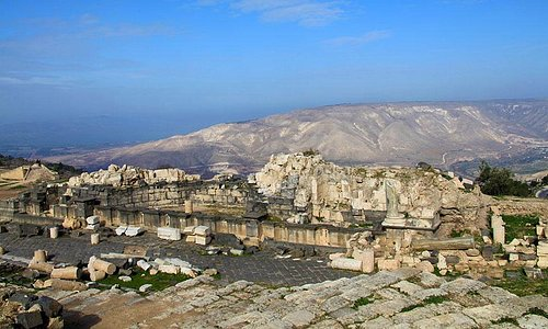 Amazing View Sea of Galilee and the Golan Hights