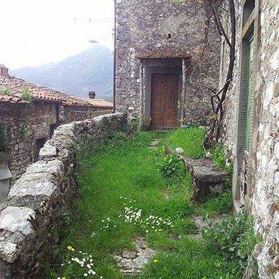 Una delle tipiche case