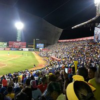 Crowd at Quisqueya Stadium