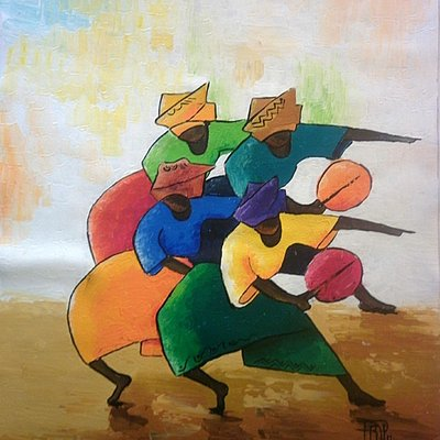 Carnaval, Acrilyc on canvas
