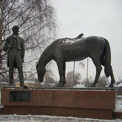 Памятник К.Н. Батюшкову.