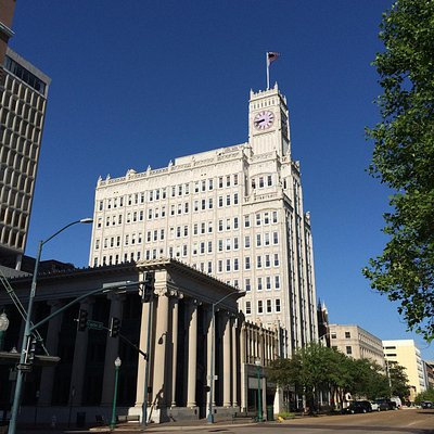 Lamar Life Building, once was the tallest skyscraper in Mississippi.