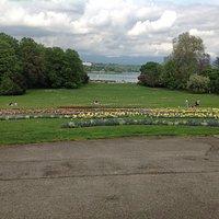 Parc del la Grange vista lago