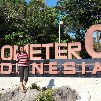 0 km Indonesia