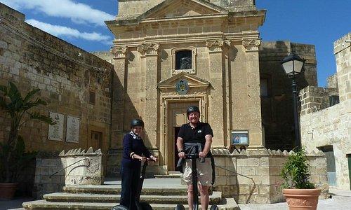 On a tour with Gozo Segway Tours