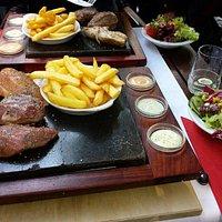 carne su pietra,  ottima