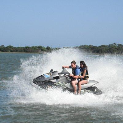 Tybee Jet Ski action!!!