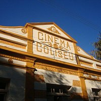 Fachada do Cine Teatro Coliseu - em Camaquã - RS