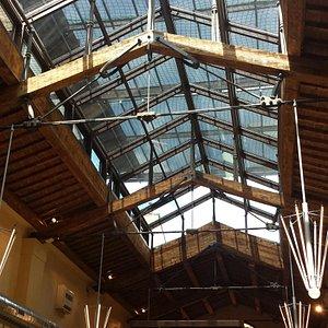 il soffitto a vetri