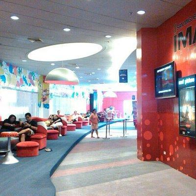 IMax lobby area