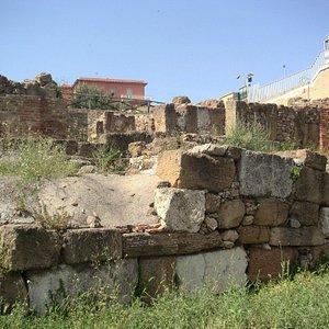 Resti dell'Acropoli di Gela