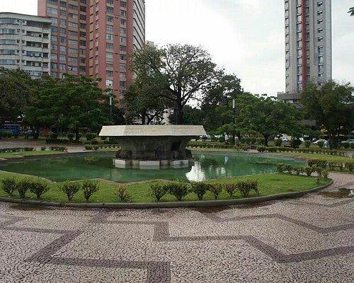 Centro da  Praça  Raul Soares