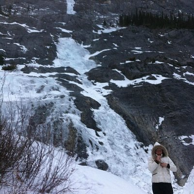 Frozen Cascade Waterfall