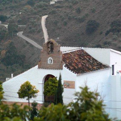 Vista parcial de la Ermita