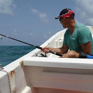 Fishing in the Carribean