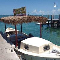 Tiki rum boat