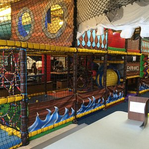 Part of the soft play