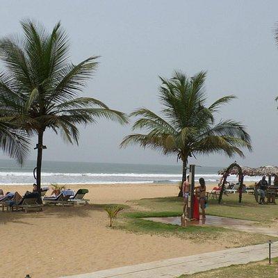 beautiful resort at Ce Ce Beach