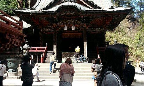 榛名神社。以前より混むようになりました。
