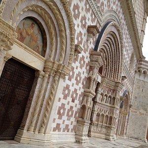 Parte della facciata