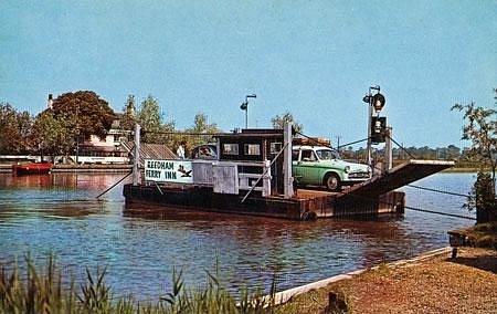 Reedham Ferry 1950's