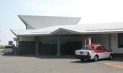 文学館入口
